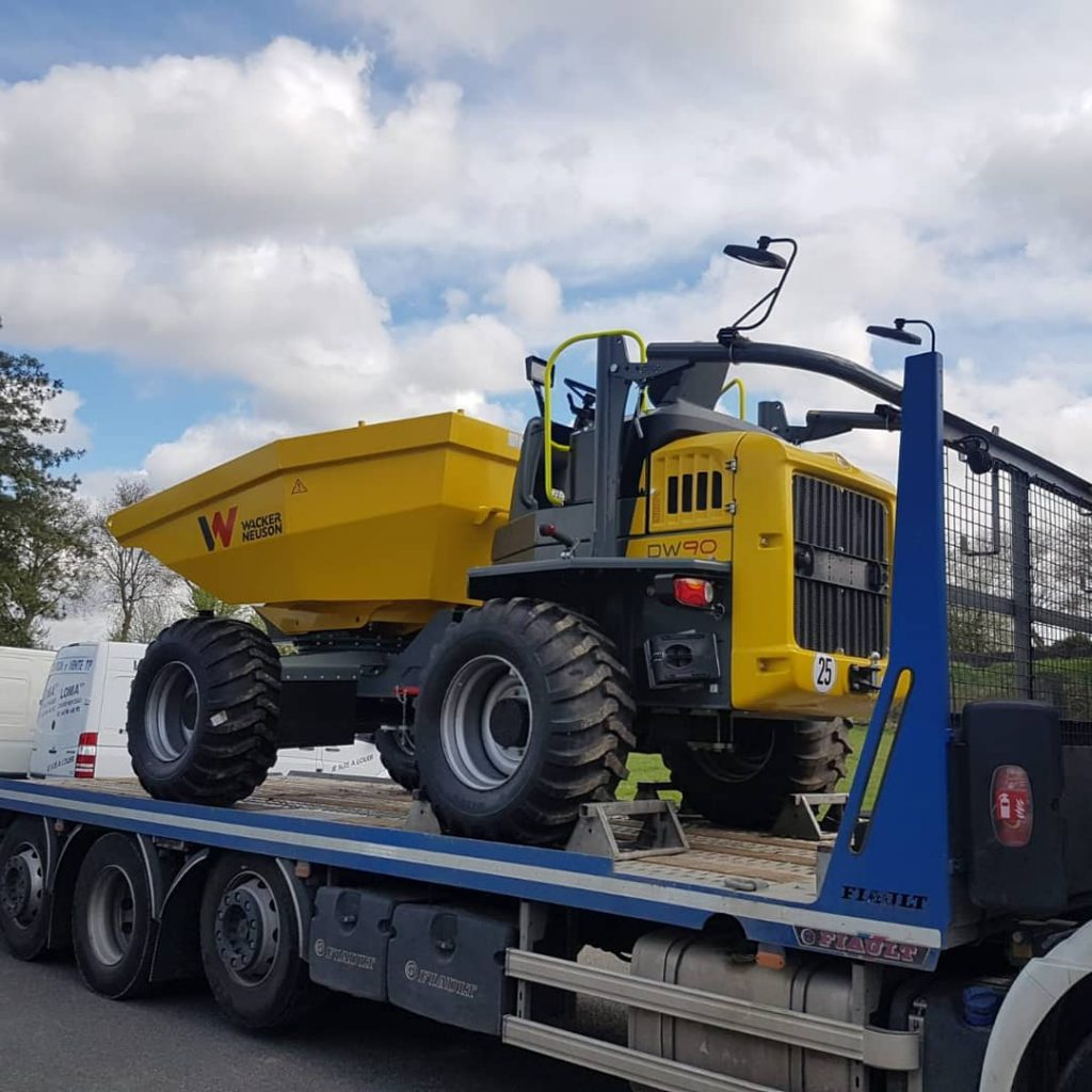 Dumper 9 tonnes - wacker neuson dw 90