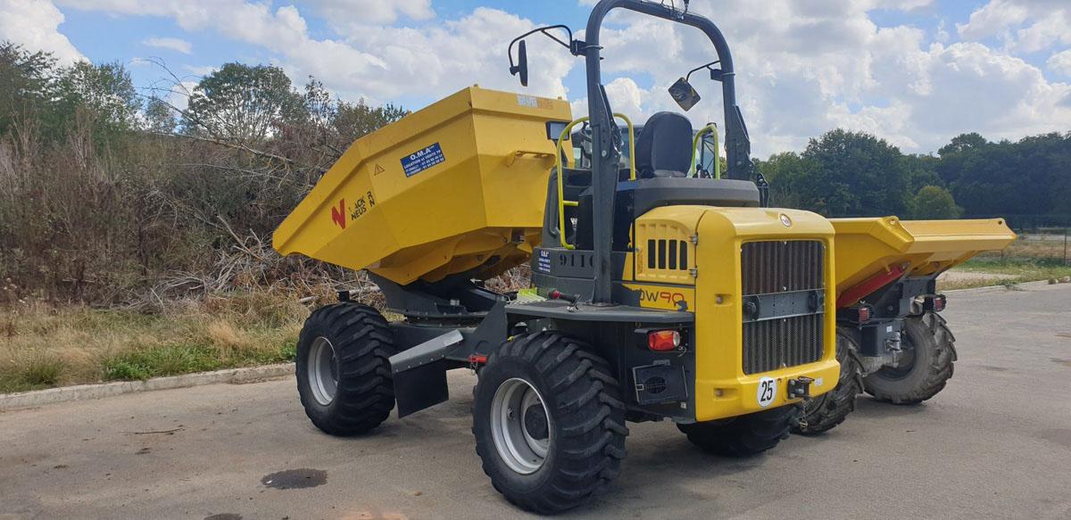 Dumper 6000 Litres Wacker-DW90